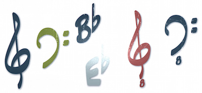 clefs small focal